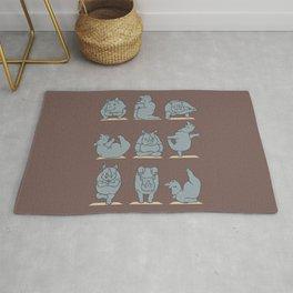 Rhino Yoga Rug