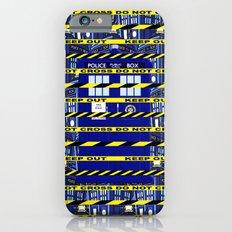 Yellow Line Tardis iPhone 6s Slim Case