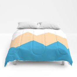 Sandy Blues Comforters