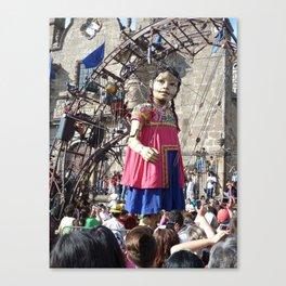 La pequeña gigante Puppet en Guadalajara, 2011 Canvas Print