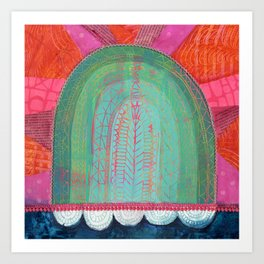 Radiant Rainbow Art Print