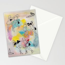 Knock It Out Stationery Cards