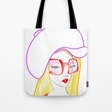 Hip Girl Tote Bag