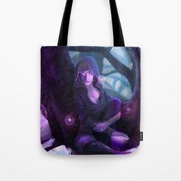 Fantasy Telekinetic Woman Tote Bag