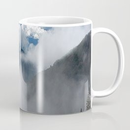 MOUNTAIN, FOREST AND FOG Coffee Mug