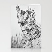 groot Stationery Cards featuring GROOT by Cuppy