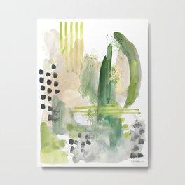 Mossy Design Metal Print