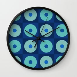 a case for dots-squares Wall Clock
