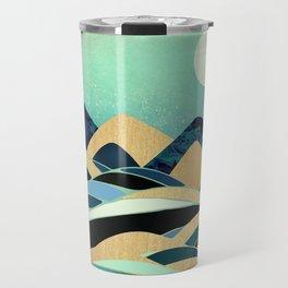 Emerald Evening Travel Mug