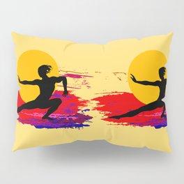 Martial art, karate, judo, aikido, self defence Pillow Sham