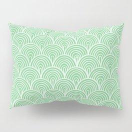 Sage Waves Pillow Sham