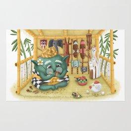 Green Bali Rug