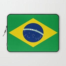Flag of Brazil-Brazil, flag, flag of brazil, brazilian,Rio, Sao Paulo, Rio de Janiero, carnival Laptop Sleeve
