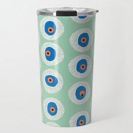 Evil Eye Charm - Hemlock  Travel Mug