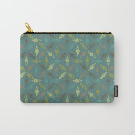 Diamond Geo Stamp Carry-All Pouch