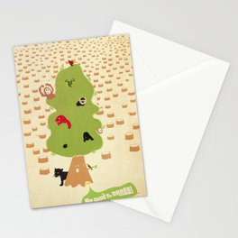 Be Good to Trees Stationery Cards
