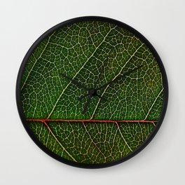 The Leaf Wall Clock