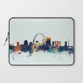 St Louis Missouri Skyline Laptop Sleeve