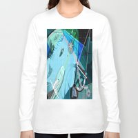 sailing Long Sleeve T-shirts featuring Sailing by Robin Curtiss