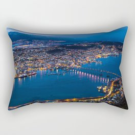Panoramic Tromso Rectangular Pillow