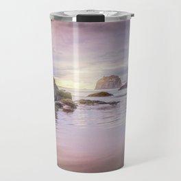 My Therapist the Ocean Face Rock Beach Travel Mug