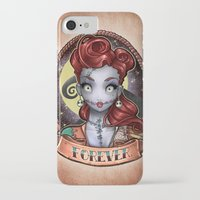 pinup iPhone & iPod Cases featuring FOREVER pinup by Tim Shumate