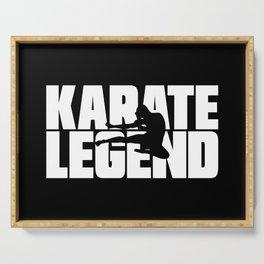 Karate Legend Serving Tray