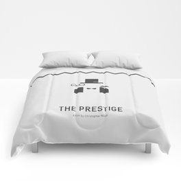 Flat Christopher Nolan movie poster: The Prestige Comforters