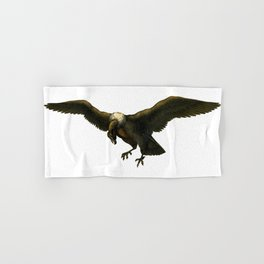 Vintage Vulture Hand & Bath Towel