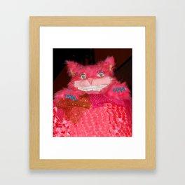 Cheshire Valentine Framed Art Print