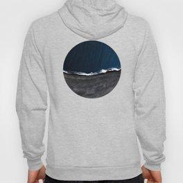 Grey Beach Blue Sea Hoody