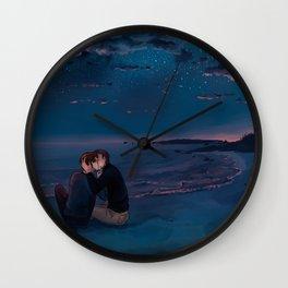 A Kiss Wall Clock