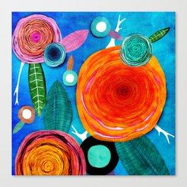 Glück kann man trainieren - Rupy de Tequila ultimative Farben 2018 Canvas Print