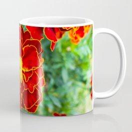 Red Tagetes lucida Coffee Mug