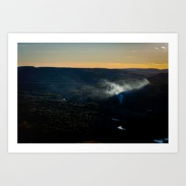 Smoky Hills Art Print