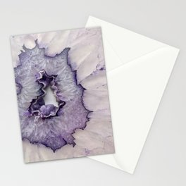 Purple Frost Agate Stationery Cards