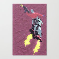 Robot Trousers Canvas Print