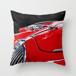 Classic Jaguar MIV car  Throw Pillow