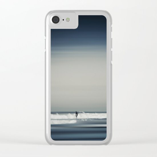 Sea and Surfer 16 Clear iPhone Case