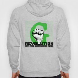 G (green) REVOLUTION Hoody