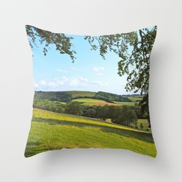 Old Winchester Hill Throw Pillow