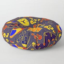 African Fancy Floor Pillow