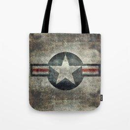Air force Roundel v2 Tote Bag