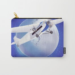 Learn to Fly vintage poster Carry-All Pouch