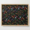 Dark Flower Pattern by aljahorvat