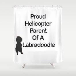 Proud Parent Of A Labradoodle Shower Curtain