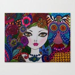 OWLWAYS W YOU Canvas Print