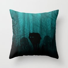 Wolf Pass Throw Pillow