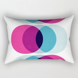 Abstract geometric composition III Rectangular Pillow