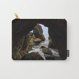 Ruby Beach Sea Cave Carry-All Pouch